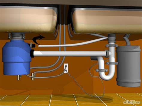 plumbing a garbage disposal in a double sink plumb a double sink with garbage disposal a drawing