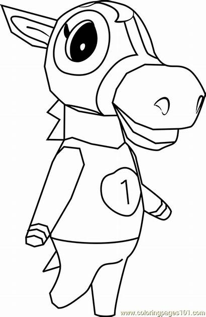 Crossing Animal Victoria Coloring Pages Coloringpages101