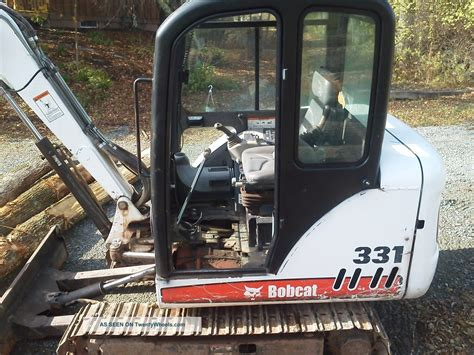bobcat  mini excavator cab heat  speed   hrs