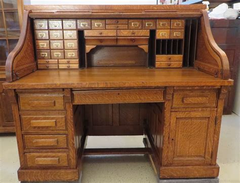 Antique Furniture Ebay Usa by Antique Serpentine Quot S Quot Roll Top Desk By Shelbyville Desk