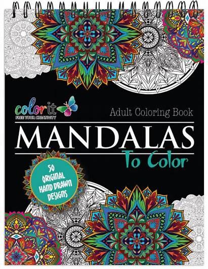 Mandalas Colorit Mandala Coloring Terbit Basuki Books