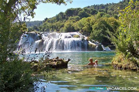 hotel sur avec dans la chambre le parc de krka les parcs nationaux de croatie