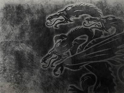 Targaryen Sigil Thrones Wallpapers Sigils Houses Stark