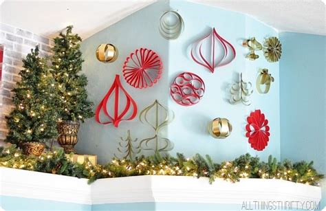 how to make paper christmas ornaments all things thrifty