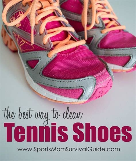 how to wash tennis shoes the best way to clean tennis shoes sportsmomsurvivalguide com