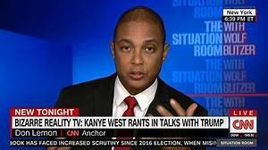 CNN host Don Lemon blasts Kanye West and Trump's Oval ...