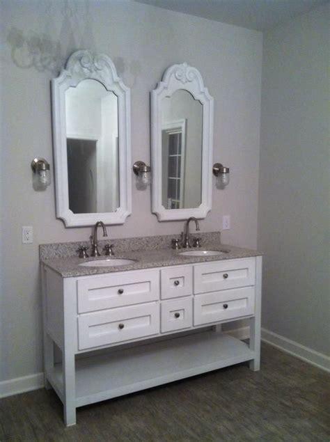 Bathroom Mirrors Nickel Finish