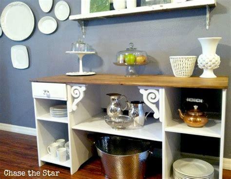 Repurposed Sideboard by Diy Desk Repurposed Into A Buffet Sideboard Home