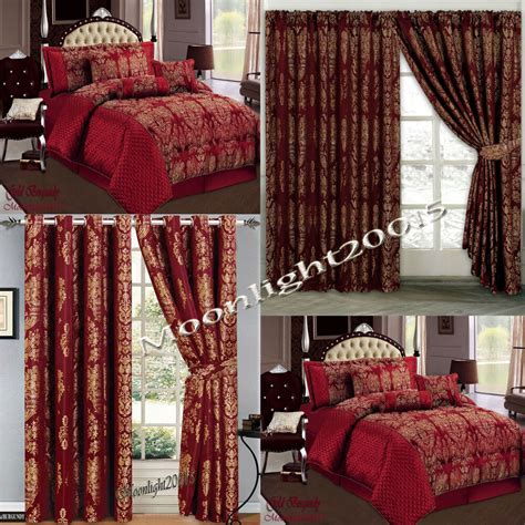 Bedspreads And Drapes - jacquard luxury 7 s burg comforter set bedspread