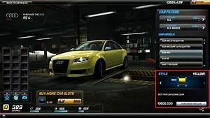 Ma Voiture Cash : comment acheter une voiture dans nfs world avec du cash ~ Gottalentnigeria.com Avis de Voitures