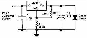 How to build a laser diode circuit for Laser diode circuit