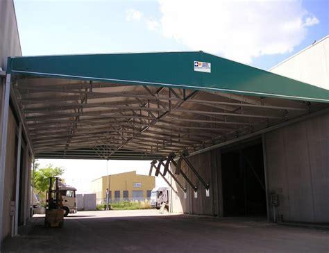 copertura capannoni copertura tunnel collegamento capannoni centro service