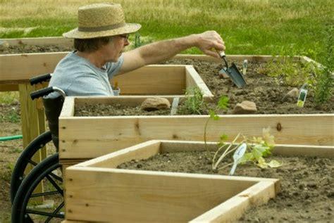 Handicapped Gardening