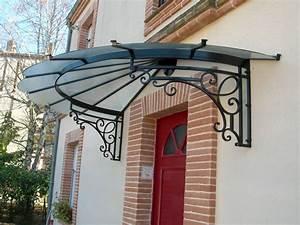 Marquise De Porte Ancienne : la porte d entr e se prot ge ~ Dailycaller-alerts.com Idées de Décoration