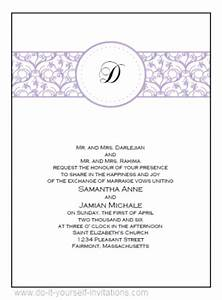 wedding invitation templates free downloads wblqualcom With free printable wedding invitations with pictures