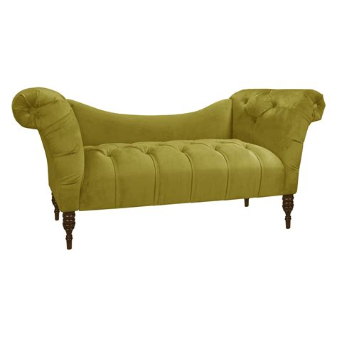 skyline furniture tufted chaise lounge indoor chaise