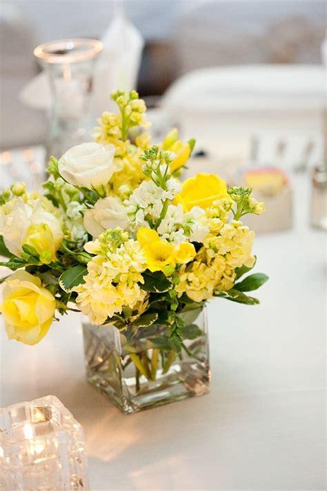 yellow centerpieces wedding ideas  elizabeth anne