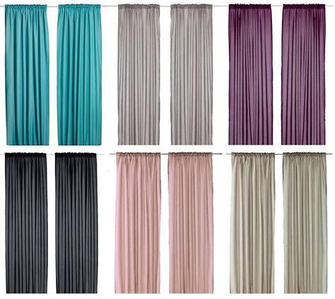 Gardinen Bei Ikea by Ikea Vivan Pair Of Curtains 2 Panels Purple Turquoise