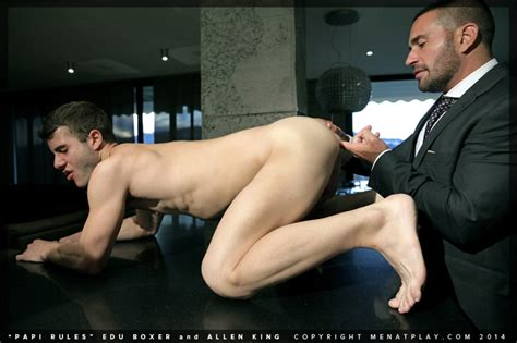 Edu Boxer And Allen King Men For Men Blog Naked Men Porn