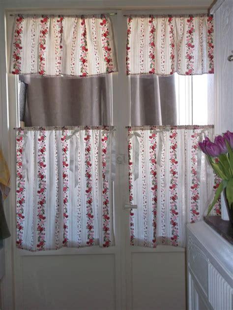 rederve paire de rideaux brise bise pour cuisine esprit romantique textiles and cuisine