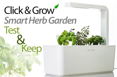 Review & Keep The Smart Garden Click & Grow Kit
