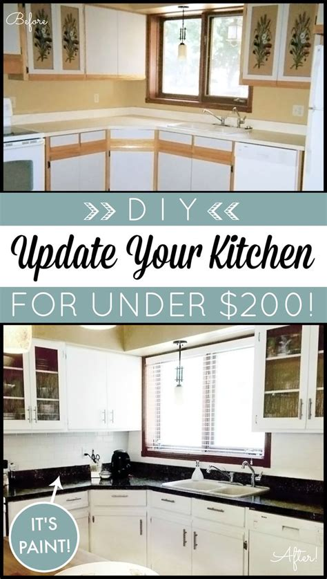 kitchen cabinet kits diy diy kitchen makeover on a budget giani granite countertop 5532