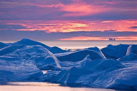 greenland snow sunset sea iphone 10 staggeringly amazing unesco world heritage