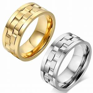 15 Inspirations Of Men39s Spinning Wedding Bands