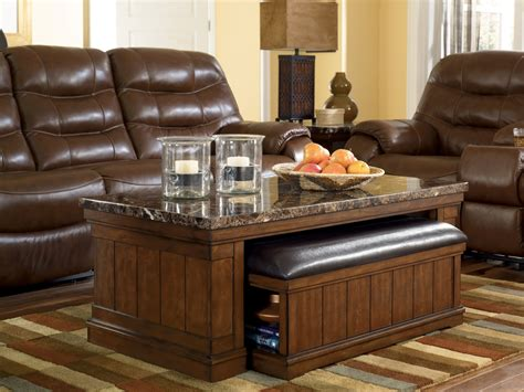 merihill cocktail table  ottoman  piece set  ashley   coleman furniture
