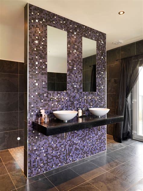 purple bathroom designs decorating ideas design