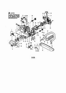 358 350080 Craftsman 18 Inch Gas Chain Saw