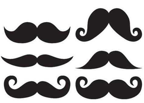 mustache template printable large mustache template clipart best