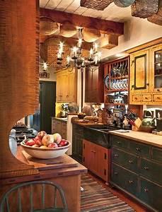 95, Amazing, Rustic, Kitchen, Design, Ideas