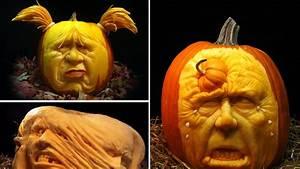 23, Amazing, Carved, Pumpkins
