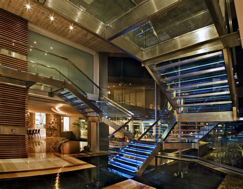 glass house   square foot modern mega mansion