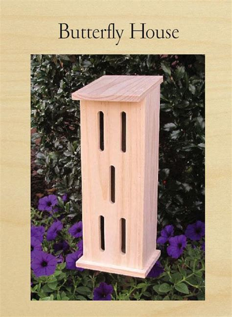 butterfly house project  popular woodworking