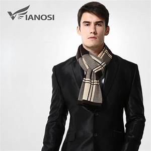 Aliexpress.com : Buy [VIANOSI] Wool Plaid Scarf Man Winter ...