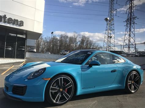 Dealer Inventory 2017 Porsche 911 C2s Coupe 7 Speed Manual