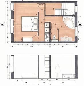 50 plan suite parentale avec salle de bain et dressing idees With plan chambre avec salle de bain et dressing