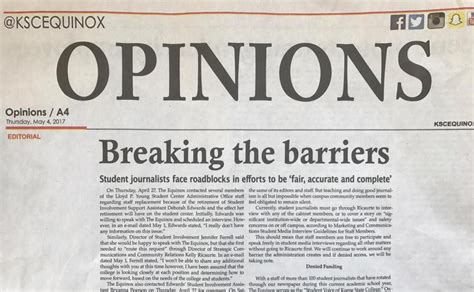 How to cite a newspaper in chicago turabian easybib blog. Keene State journalism feud spills into public eye | Local ...
