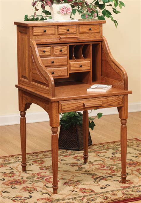 Small Wood Desk by Solid Wood Desks Free Delivery