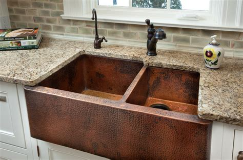rustic kitchen design images copper farm sink 4995