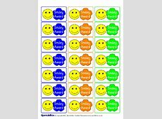 Printable Primary School Award Stickers KS1 & KS2 SparkleBox