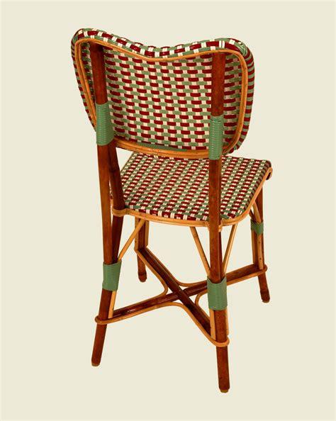 chaise bistrot rotin chaise parnasse bordeaux vert jade blanc maison drucker