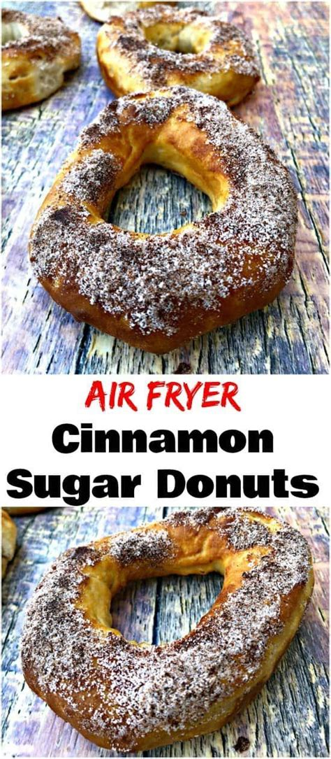 air fryer donuts grands quick biscuit healthy fried using cinnamon sugar visit easy recipes deep staysnatched