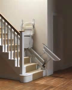 Escalier Blanc Et Noir by Retractable Stairlift Rail From Stannah Stairlifts