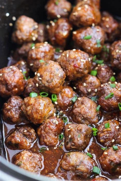 frozen meatball recipes crockpot sesame meatballs recipe thanksgiving frozen and sauces