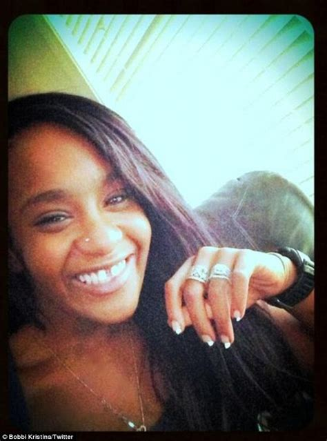 bobbi kristina brown reveals she s married fianc 233 nick