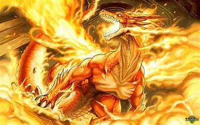 Naga Fantasi Gambar Terkeren Koleksi Dragon Api