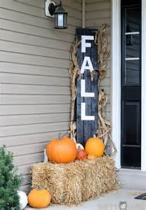 diy porch decor diy fall decorations for your home landeelu com